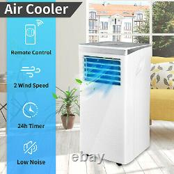 10000 BTU Air Conditioner Portable Air Cooler 3 Mode Cooling Fan AC Timer Remote