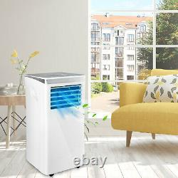 10000 BTU Portable Air Conditioner 3 Modes Cooling Dehumidification Fan WithRemote