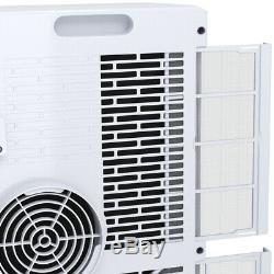 10000 BTU Portable Air Conditioner Remote Control Dehumidifier Compact Single