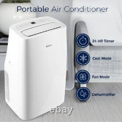 10K 12K 14K BTU Portable Air Conditioner Dehumidifier Quiet Remote withWindow Kit