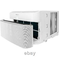 10,000 BTU Cool Connect Smart Window Air Conditioner with Wi-Fi Control in White