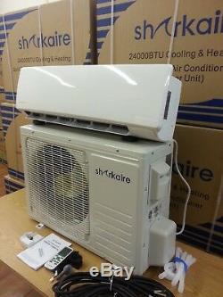 110 VOLT 9000 BTU Ductless Mini Split Air Conditioner Easy Install