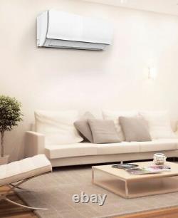12000 BTU Ductless Air Conditioner, Heat Pump Mini Split 110V 1 TON with KIT