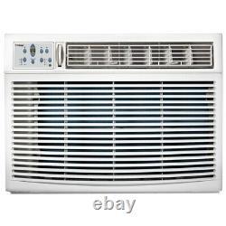 12000 BTU Window Air Conditioner with 11000 BTU Heater, 550 Sq. Ft. Home AC Unit