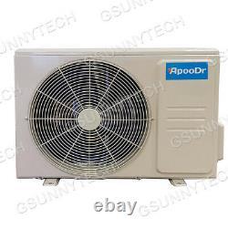 12,000 BTU Mini Split Air Conditioner 16.5 SEER INVERTER Ductless Heat Pump 110V