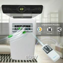 12,000 BTU Portable Air Conditioner Cool & Heat, Dehumidifier A/C Fan