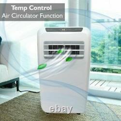 12,000 BTU Portable Air Conditioner Cool & Heat, Dehumidifier A/C Fan + Remote