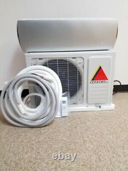 12,000 Btu Air Conditioner Mini Split Ac Ductles Heat Pump 110v