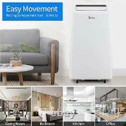 13000BTU Portable Air Conditioner Heater Dehumidifier and Fan withRemote Control