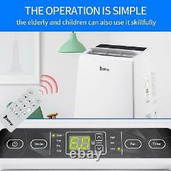 13000 BTU Portable Air Conditioner and Heater Dehumidifier Fan Room 450sq. Ft