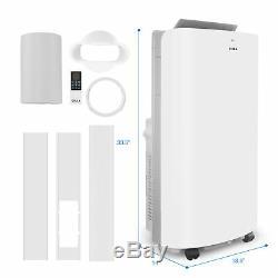 14K 700 Sq. Ft Smart Portable A/C Air Conditioner + 1050W Heater + Dehumidifier
