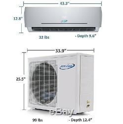 18000 BTU - 23 SEER - Ductless Mini Split Air Conditioner Heat Pump 1.5 Ton