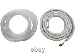 1 ton 12000 BTU 23 SEER Ductless Mini Split AC/ Hyper heat Pump with Lineset