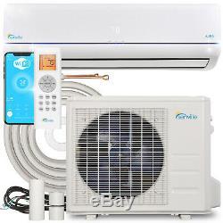 24000 BTU Ductless AC Mini Split Air Conditioner and Heat Pump 20 SEER