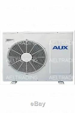 24000 BTU Ductless Air Conditioner, Heat Pump Mini Split 220V 2TON with KIT&WIFI