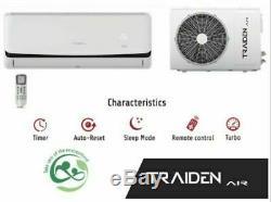 24000 BTU Ductless Air Conditioner, Heat Pump Mini Split 220V 2 TON