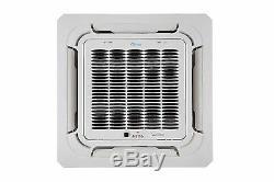 24000 BTU Ductless Mini Split Air Conditioner Ceiling Cassette 2 TON