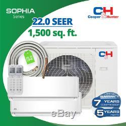 28000 BTU Dual Zone 12k+12k C&H Muli Ductless Mini Split Air Conditioner 22 SEER