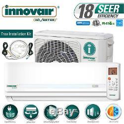 30000 BTU Mini Split Air Conditioner Heat Pump Ductless 230V INNOVAIR 18 SEER