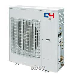 42000 BTU Penta Zone Ductless Mini Split Air Conditioner Heat Pump 12k(x5) & Kit