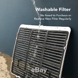 700 Sq. Ft 14000BTU Portable Air Conditioner + 1050W Heater 111 Pint Dehumidifier