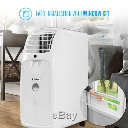 8000BTU Portable Air Conditioner 86 Pint Dehumidifier Fan Window Vent Kit Remote