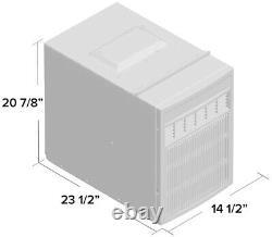 8000 BTU Casement Window Air Conditioner, 350 Sq Ft Slider AC Dehumidifier Unit