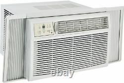 8000 BTU Window AC Unit with 3500 BTU Heat, 115V Compact Air Conditioner with Remote
