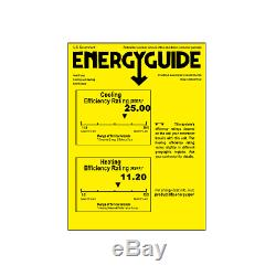 9000 BTU Ductless Mini Split Air Conditioner and Heat Pump 25 SEER Energy Star