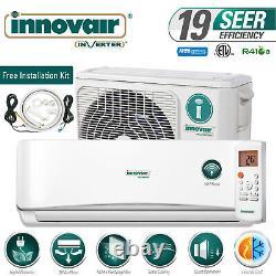 9000 BTU Mini Split Air Conditioner Heat Pump Ductless 115V INNOVAIR 19 SEER