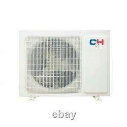 9,000 BTU 230V Ductless Mini Split Air Conditioner C&H Victoria 23 SEER Heat+kit