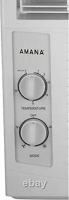 AMANA 5,000 BTU 2-Speed Window Air Conditioner 150 Sq. Ft. Coverage