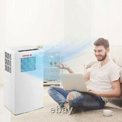 Aeroplus AAPC8RC1 350 Sq Ft 8000 BTU Portable Air Conditioner and Dehumidifier