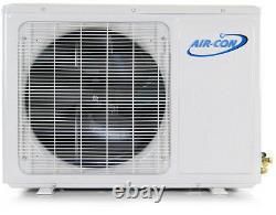 Aircon Mini Split AC Air Conditioner Heat Pump Multi Dual 2 Zone 12000 18000 BTU