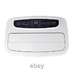 Cool-Living 12,000 BTU ASHRAE 115-Volt Portable Air Conditioner with Heat