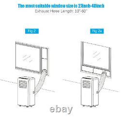 Costway 10,000 BTU Portable Air Conditioner Air Cooler& Dehumidifier & Fan Modes