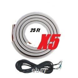 DUCTLESS SPLIT AIR CONDITIONER Heat Pump YMGI 60000 BTU 5 ZONE