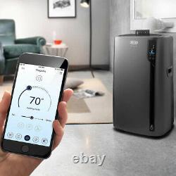 DeLonghi 4-in-1 Wifi Compatible Portable Air Conditioner (Refurbished)(Open Box)
