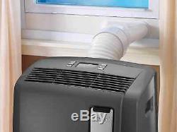 DeLonghi ASHRAE 12,500 BTU Portable Air Conditioner with Heat