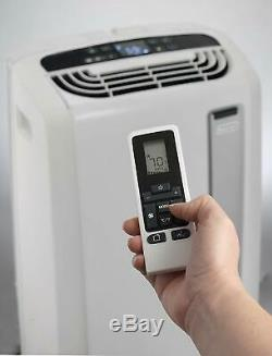 DeLonghi Pinguino 14,000 BTU ASHRAE Portable Air Conditioner with Heat, White