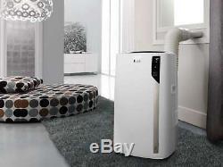 De'Longhi Pinguino 14,000 BTU ASHRAE Portable Air Conditioner with Heat, White