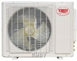 Ductless Mini Split Air Conditioner Heat Pump YMGI 2 Zone 36000 BTU Cool Heat