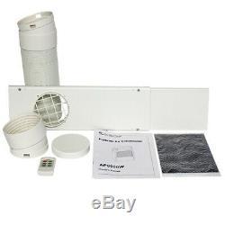 EdgeStar AP8000W 8000 BTU 115V Portable Air Conditioner Cools White
