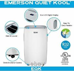 Emerson Quiet Kool 10,000 BTU Portable Air Conditioner with Remote, EAPC10RD1