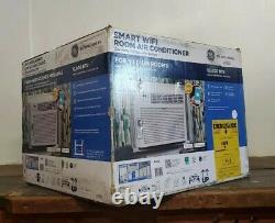 GE 10000 BTU Smart Window Air Conditioner, 450 SqFt Room WiFi Home AC 115V Unit