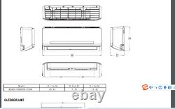 GREE 9000 BTU Mini Split Air Conditioner Heat Pump SEER 23 ENERGY STAR BRAND NEW