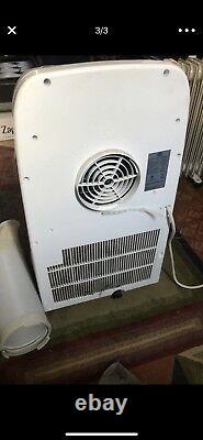 Global Air YPL3-10C 10,000-BTU 3 in 1 Portable Air Conditioner with Dehumidifier