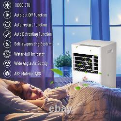 HOMCOM Mobile Air Conditioner With Remote Control Cooling Sleeping Mode 10000 BTU