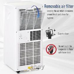 HOMCOM Mobile Air Conditioner With Remote Control Cooling Sleeping Mode 9000BTU