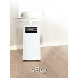 Haier 10,000 BTU ASHRAE Portable Air Conditioner with Dehumidifier, White